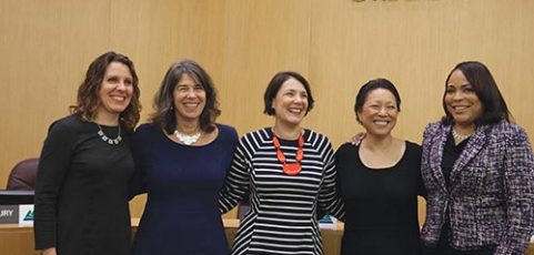 New County board historic for its diversity