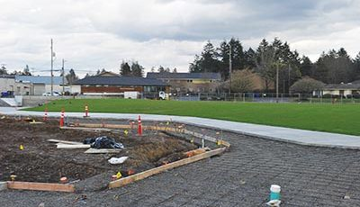 Construction updates on new east Portland parks, tennis courts