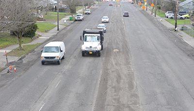 Bureau promises repaved roads
