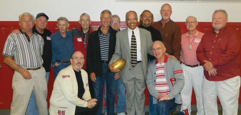 David Douglas sports legend brings home the gold … football