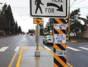 Flashing crosswalks installation update