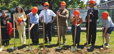 Groundbreaking held for new park