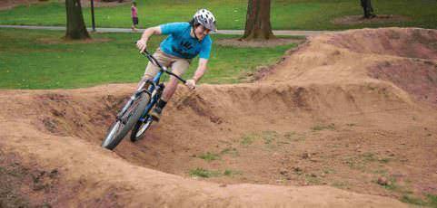 Pump Track gets face-lift, parks get fenced off