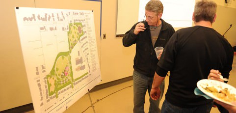 Beech Park designs presented to community