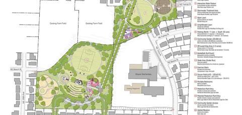 Planners present Beech Park 'preferred alternative'
