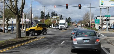 Dangerous Parkrose intersection gets improvements