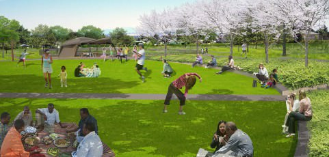 Beech Park, Gateway Park (re)named