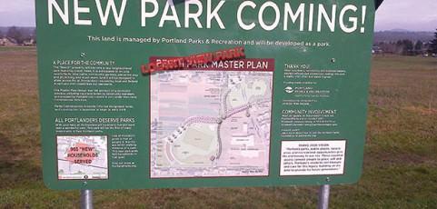 Parks process poor on public involvement