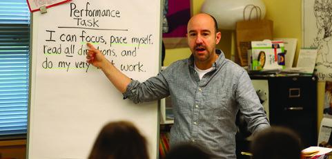 David Douglas educator K-8 teacher of the year