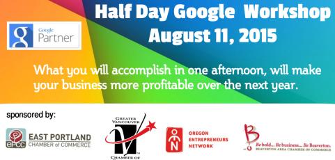 Aug 11, 2015  – Google Workshop for Businesses