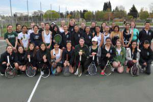 Parkrose High School 2016 Girls Tennis Team