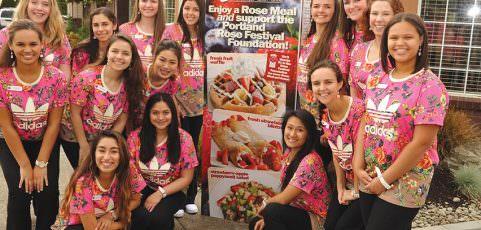 Rose Festival Court promotes in Parkrose