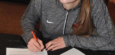 Parkrose's Krening scores goal of four-year college scholarship