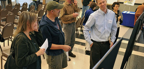 Parks advisory committees hold open houses