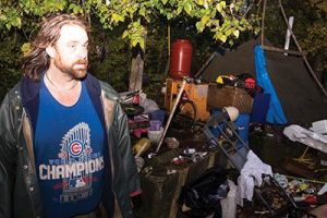 In November, Danny Ferron was told that he and the other four denizens of Slough Town must pack up and leave. A local pastor, the Historic Parkrose revitalization group, the neighborhood association and even the business association made a thoughtful effort to make the Parkrose homeless camp work for all parties this summer. For a while, it did. STAFF/2016In November, Danny Ferron was told that he and the other four denizens of Slough Town must pack up and leave. A local pastor, the Historic Parkrose revitalization group, the neighborhood association and even the business association made a thoughtful effort to make the Parkrose homeless camp work for all parties this summer. For a while, it did. STAFF/2016