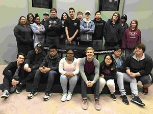 """Parkrose High School Advanced video students are finalists in the 2017 O[yes] """"Speak up. Work safe."""" statewide high school video contest for their work on """"Rapaccidents."""" COURTESY CASEY GOODLETT"""