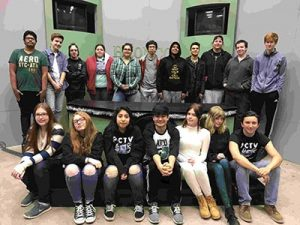 """Parkrose High School Advanced video students are finalists in the 2017 O[yes] """"Speak up. Work safe."""" statewide high school video contest for their work on """"Rewind."""" COURTESY CASEY GOODLETT"""
