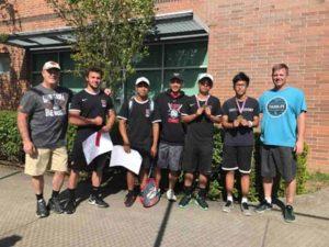 David Douglas boys tennis team. COURTESY DAVID DOUGLAS SCHOOL DISTRICT