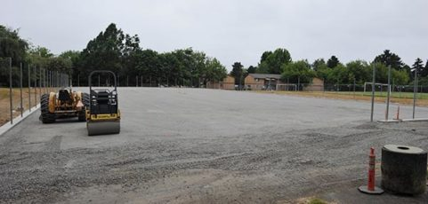 Argay tennis courts renovation: Game point