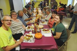 See old friends and make new ones at the annual Rivercrest Community Church German Sausage Dinner Saturday, Oct. 7. STAFF/2016