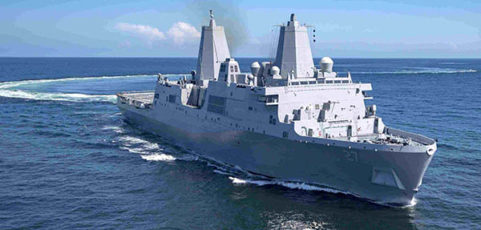 Local Navy vet rallies locals to celebrate USS Portland commissioning