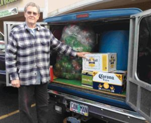 Longtime east Portland resident Dave Luce, also known as the Can Man, passed away in November. STAFF/2012