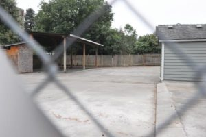 An idea that's been floated is to do a food cart pod in the expansive interior courtyard at the location of the former Tush Lingerie adult business in Parkrose near Sandy Boulevard. STAFF/2017