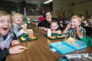"""District 3 Multnomah County Commissioner Jessica Vega Pederson played """"principal for the day"""" at Creston Elementary in October. COURTESY MULTNOMAH COUNTY"""