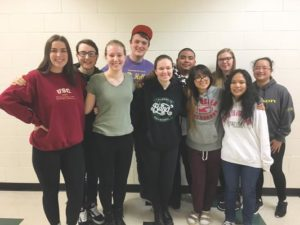 Parkrose High School students selected for state and northwest honor band and choirs are (back row from left) Easton Fiser, Hunter Fields, Jeffrey Bumatay, Emily Miller and Kelza Garcia and (front row from left) Noelle Bell, Kate Grobey, Vicki Ebert, Grace Trang and Angelea Nguyen. COURTESY KEIJA LEE