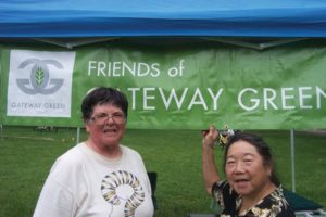 Join Friends of Gateway Green founders Linda Robinson, left, and Arlene Kimura at the Gateway Green Open House Saturday, Feb. 24 from 10 a.m. to 1 p.m. at the Immigrant and Refugee Community Organization, 10301 N.E. Glisan St. Provide your input as planning begins for the next phase of the off-road cycling destination. STAFF/2013