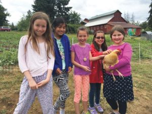 A new Oregon Department of Education Farm to School grant keeps David Douglas fifth-graders traveling to Zenger Farms to learn the science of farming, gardening and local food production. COURTESY ZENGER FARMS