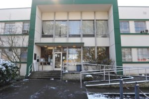 According to officials with Multnomah County's Joint Office of Homeless Services, the Hansen Shelter for homeless on Northeast Glisan Street at 122nd Avenue, is set to close in June. STAFF/2018