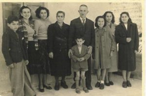 Teresa Rebagliati, far right, the future Mrs. Stephano Castellano, sailed to America in September 1955 with her family, pictured here in 1949. COURTESY CASTELLNO FAMILY