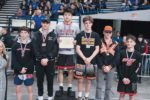 Anthony Cha is the state champion at 132 pounds. COURTESY CHASE ALLGOOD, OREGONLIVE COURTESY CHASE ALLGOOD, OREGONLIVE