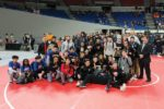 Scots wrestlers brought home the OSAA Championship fourth-place trophy to cap off a great season. COURTESY CHASE ALLGOOD, OREGONLIVE