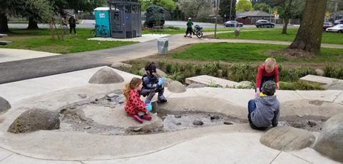 New playground at Ventura Park officially opens