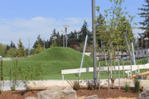 "The ""play hill"" is a central part of the play area at the new Gateway Discovery Park on Northeast 106th Avenue and Halsey Street. STAFF/2018"
