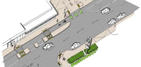 Halsey-Weidler Streetscape Project breaks ground