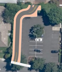 Proposed multiuse trail to connect residents to Gateway Discovery Park at Northeast 106th Avenue and Wasco Street. COURTESY PBOT