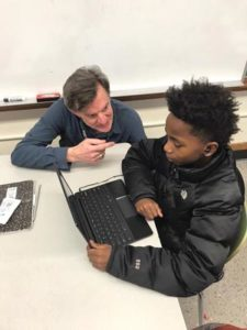 Math teacher Bruce James has been recognized for going out of his way to help students at Alice Ott Middle School. COURTESY DAVID DOUGLAS SCHOOL DISTRICT