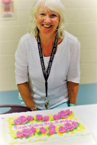 Ruth Morris has retired from PCS after 23 years as a kindergarten teacher. Her songs and creativity will be missed.