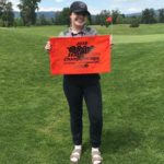 Shelbie Dunn representing Parkrose at the OSAA state golf tournament. She placed 10th. COURTESY ERICA SIEVERSON DUNN