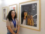 "Skylar Scott earned a Scholastic Art gold medal for her painting titled ""Munchin."" COURTESY SARAH WHITLEY"