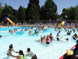 The pool at Montavilla Park is a favorite for area residents. COURTESY PP&R