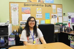 Rocio Rodriquez of SUN for Sacramento Elementary. STAFF/2018