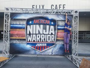 "Caiden Madzelan, grandson of the late Dave ""Can Man"" Luce, competes on ""American Ninja Warrior Junior."" The show debuts Saturday, Oct. 13 at 7 p.m. on the Universal Kids Network with a 20-episode run. COURTESY MATT LUCE"