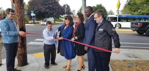 PBOT cuts ribbon on 122nd Avenue safety improvements