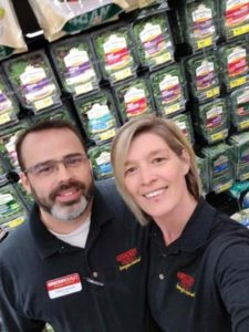 Chad and Gina Hilker are the new owners of Grocery Outlet in Parkrose. COURTESY GINA HILKER