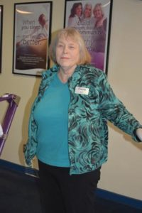 Karen Hume, a Curves member since 2006, was a retiree from the City of Portland when she decided to buy the franchise in 2012. Currently, at more than 200 members, Hume is looking to sell the business. STAFF/2018