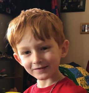 Parkrose Middle School has adopted five-year-old Owen as its Sparrow. Students will establish relationships with Owen and fundraise in support of him. COURTESY LAURA QUEEN